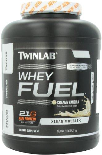 Twinlab Whey Supplement Fuel, Creamy Vanilla, 5 Pound