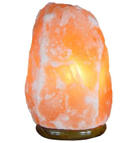 Indus Classic Himalayan Rock Salt Crystal Lamp, 14-20 Lbs