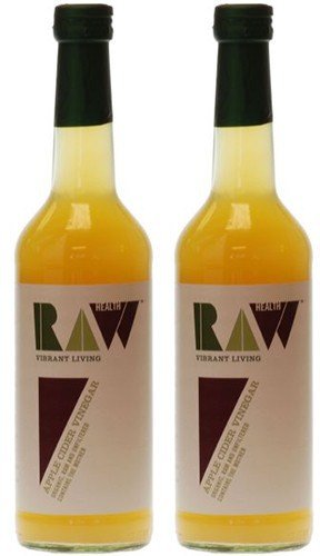 (2 Pack) - Raw Health - Org Apple Cider Vinegar | 500ml | 2 PACK BUNDLE