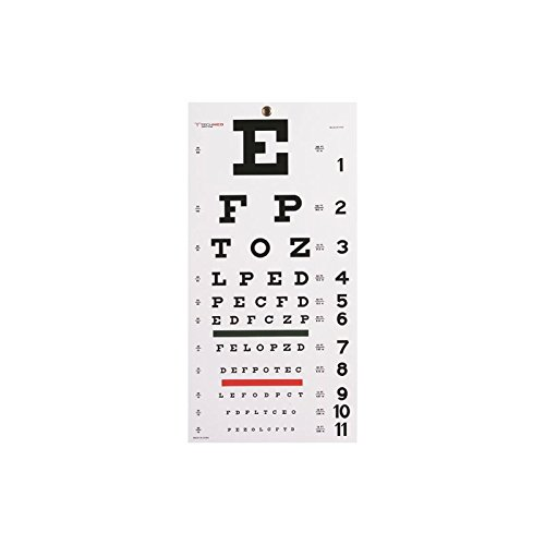 Graham-Field Health (a) Snellen Eye Chart- 22 L X 11 W