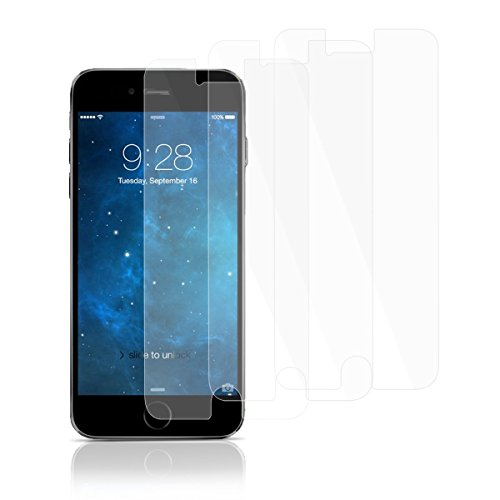 iPhone 6 Plus Screen Protector - Zakix HD/Anti-Fingerprint/Ultra Clear Screen Protector for iPhone 6 Plus 5.5 [3 Pack] Lifetime Warranty