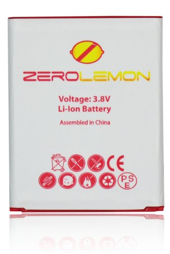 [180 Days Warranty] Zerolemon 2300 Mah Battery for Samsung Galaxy S3 I9300 - Highest Capacity Slim Battery