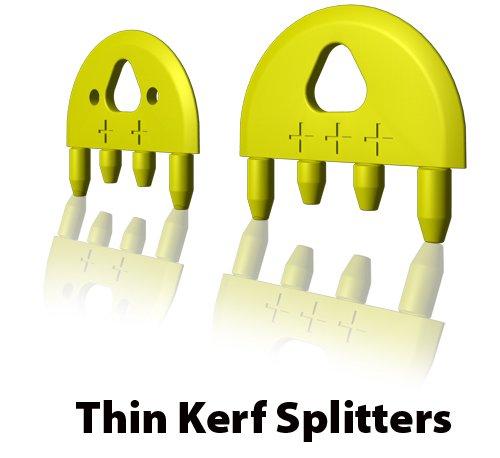 MJ SPLITTER for 3/32 Kerf Saw Blade with Bonus 2 extra splitter blades