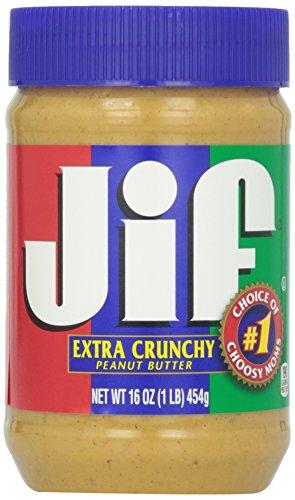 Jif Extra Crunchy Peanut Butter, 16 Oz