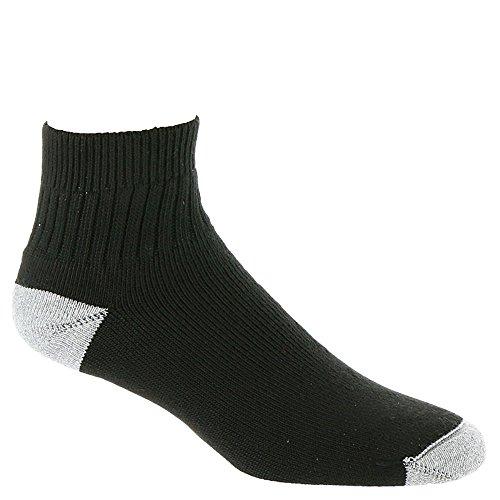 Wigwam Socks - Diabetic Sport Quarter Length Black, Medium
