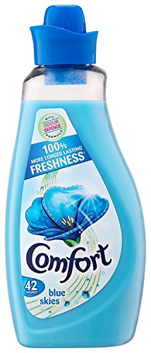Comfort Blue Concentrate Liquid Fabric Conditioner 1.5 Litre (Pack of 2)