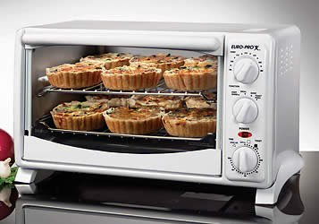 Euro-Pro Toaster Oven Convection Cooking TO284 Remanufacture