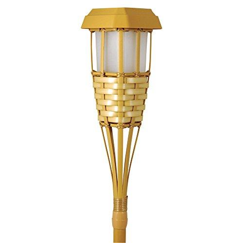 Moonrays Solar Powered Tiki Torch Path Light