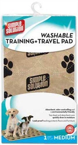 Simple Solutions Washable Training and Travel Pad, Medium