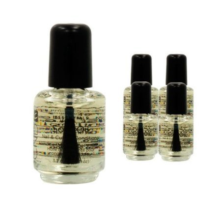 Lot 5 CND Essentials SOLAR OIL .125 oz Nail Cuticle Condition Polish Treatment