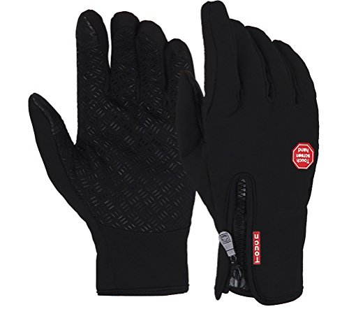 Dreampark Outdoor Sports Wind-stopper WaterProof Cold Weather Touch Screen Gloves