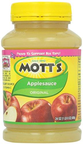 Motts Inc Apple Sauce, 24 oz