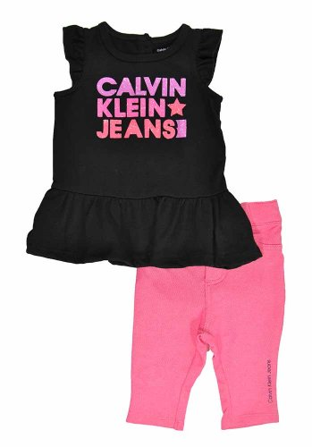 Calvin Klein Baby Girls' Top with Pants