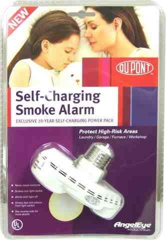 Self-Charging Smoke Alarm