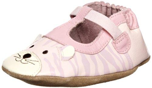 Robeez Kids 3d Tiger Girl Pink Baby Shoe 12-18 Months