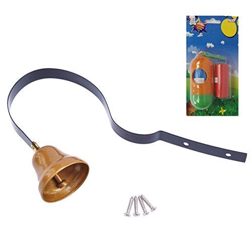 BINGPET Dog Tinkle Bell Pet Doorbell Hanging Brass for Housebreaking / Housetraining / Potty Training