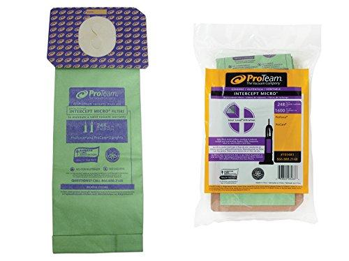 ProTeam Intercept Micro Filter Bag:  ProForce Uprights