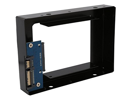 IOCrest Internal HDD Mounting Adapter Kit, 2.5-Inch to 3.5-Inch Components