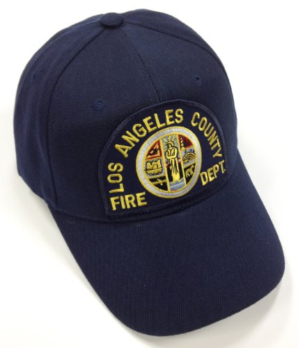 Los Angeles County LA Fire Department Hat Ball Cap