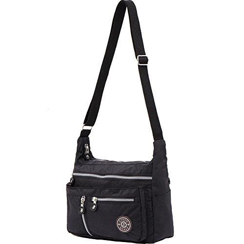ZYSUN Women's Fashion Shoulder Bags Nylon Crossbody Bags Casual Messenger Bags