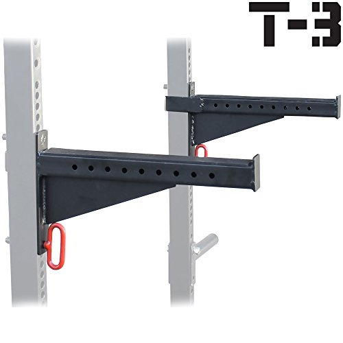 Spotter Arms for T-3 HD Power Rack With 2x3 Tubes Bench Press Squat Lift Safety