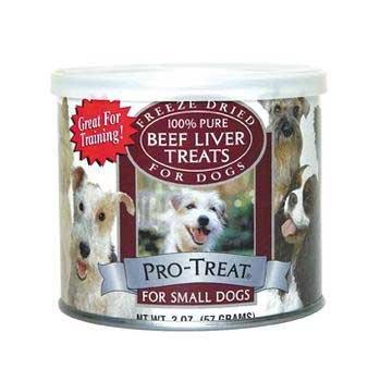 Pro-Treat Beef Liver for Small Dogs, Freeze Dried 2 Ounce