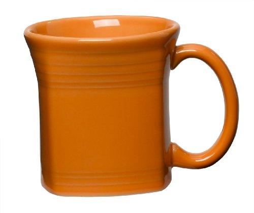 Fiesta 13-Ounce Square Mug, Tangerine
