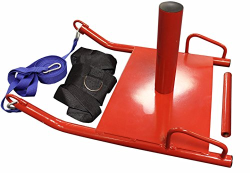 Titan Power Speed Sled w/ Harness Weighted Drag Sport Crossfit Running Football