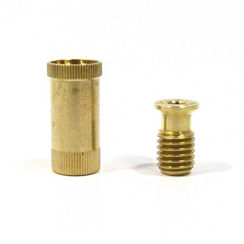 Meyco BCA1 Brass Screw Type Anchor, Threaded