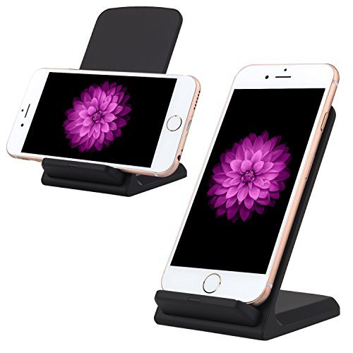 Wireless Charger,Qi Wireless Charger Pad,TWOBIU(TM)3 Coils Wireless Charger Pad for Samsung Galaxy S7 Edge/ Samsung Note 5/iPhone 6S Plus/Sony