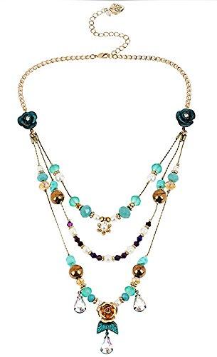 Betsey Johnson Jewelry PATINA ILLUSION NECKLACE