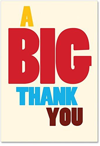 Big Thank You Thank You Humor Card