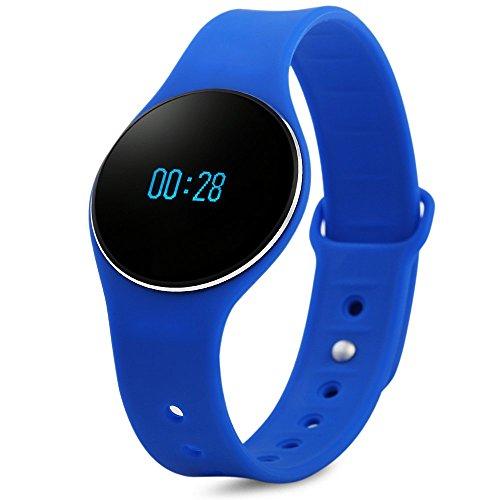 Bluetooth 4.0 Smart Bracelet Sport Wristband Silicone Watch Waterproof SMS Reminder Sleep Fitness Tracker Calorie