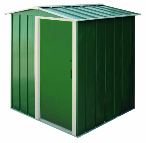 Duramax 5 x 4ft Eco Metal Shed with OW Trim - Green