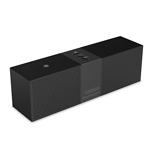 TaoTronics® Portable Bluetooth Speaker (Wireless & Mobile, 10 Hour Battery Life, 33 ft Range, Built-in Microphone, USB & Aux Input, NFC Compatible)