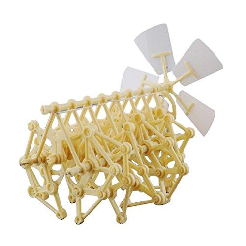 Tinksky Wind-powered Animaris Ordis Parvus Strandbeest Model Robot DIY Assembly Walker Educational Toy Kit