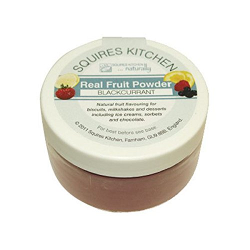 Squires Kitchen Natural Fruit Powder - Blackcurrant