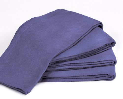 Towels by Doctor Joe Blue 16 x 25 New Surgical Huck Towel, Pack of 12