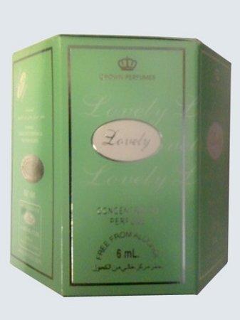 Lovely - 6ml (.2oz) Roll-on Perfume Oil by Al-Rehab (Crown Perfumes) (Box of 6)