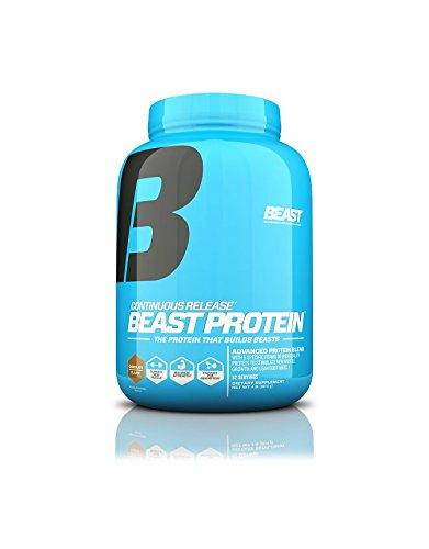 Beast Sports Nutrition Protein Powder, Chocolate, 4 Pound