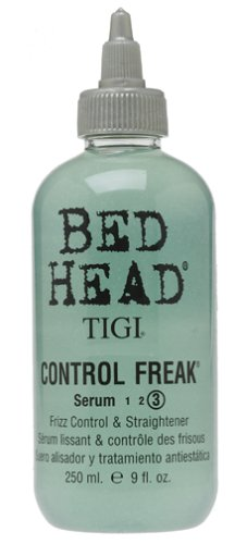 TIGI Bed Head Control Freak Serum, Frizz Control and Straightener, 9 Ounce (Pack of 2)