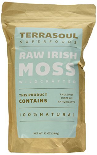 Irish Moss (Wildcrafted, Raw), 12-ounce