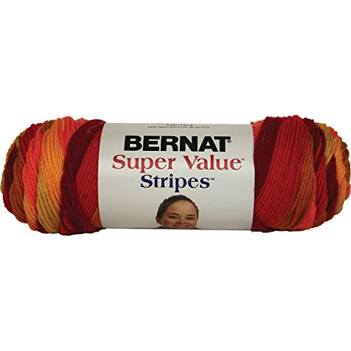 Spinrite Super Value Stripes Yarn, Spices