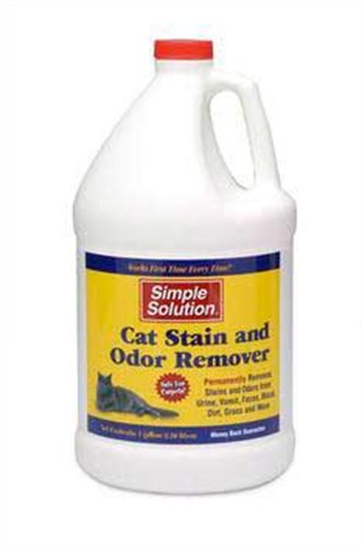 Simple Solutions Cat Stain & Odor Remover, Gallon