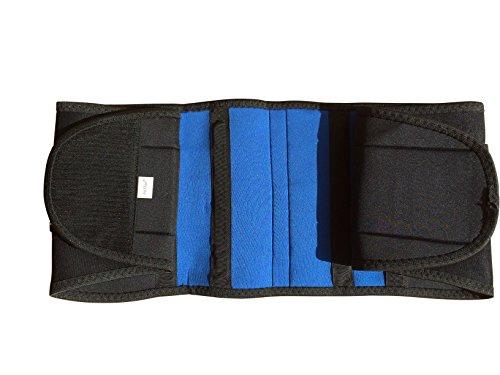 Neoprene Double Pull Lumbar Brace - Large