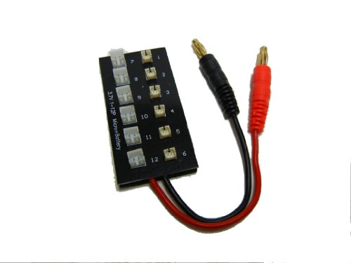 V911 and Eflite Micro Parallel Charging Board Paraboard