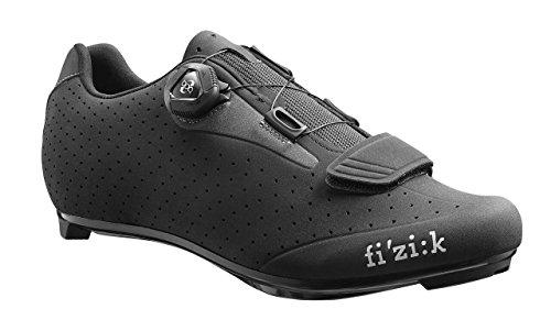Fizik R5 UOMO BOA Road Cycling Shoes, Black/Dark Grey, Size 46  Black/Dark Grey