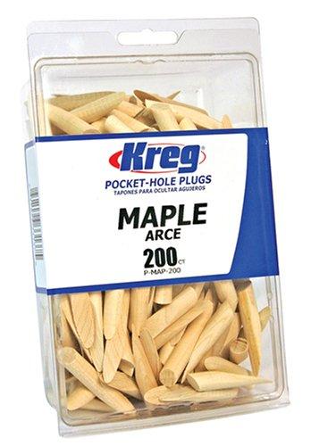 Kreg Maple Plugs - 200 count