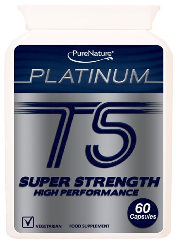 T5 New Platinum Super Strength Advanced High Strength & Performance Diet Slimming formula 60 Vegetarian Capsules-FREE UK Delivery
