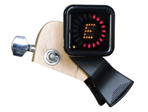 Crescendo ZenStrobe-Clip-On Tuner, for Any or All Instruments, Acoustic, Electric, Classical Guitar, Bass, Violin, Ukulele , True Strobe, Most Accurate Available, Professional Grade